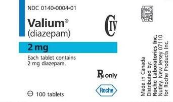 Diazepam overdose